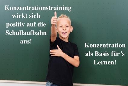 Konzentrationstraining für Kinder